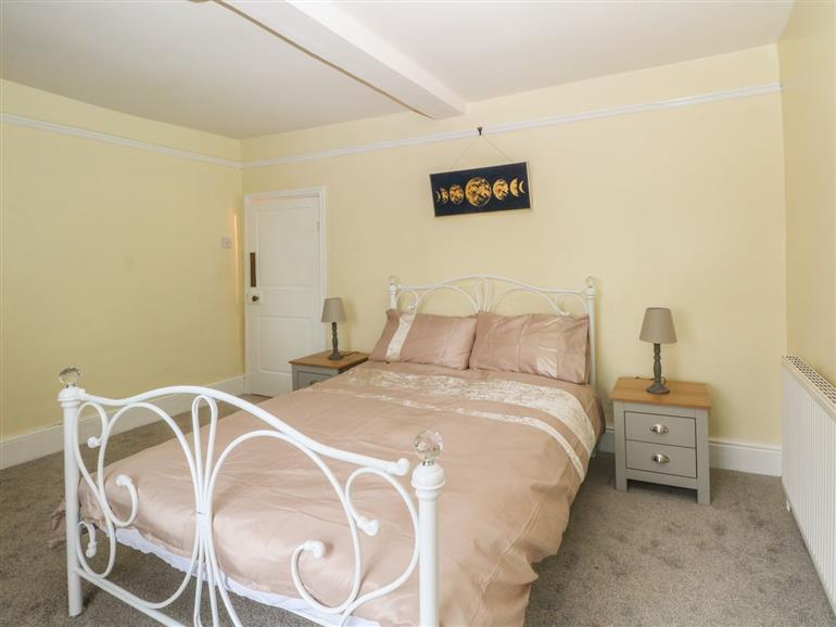 One of the bedrooms at Endon Bank Cottage in Endon