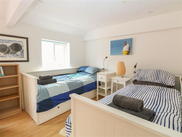 This is a bedroom at Fisherman's Cottage in Cromer