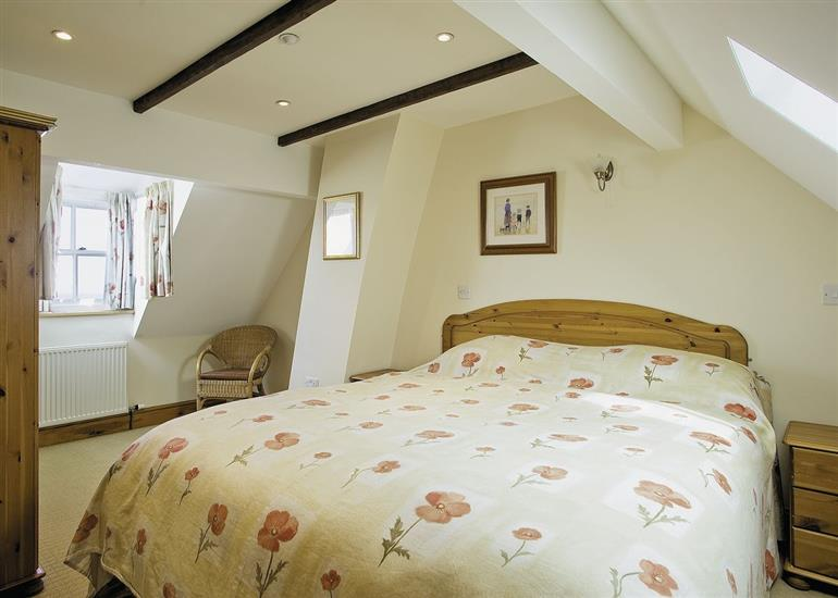 Bedroom in Bosun's Cottage, North Yorkshire