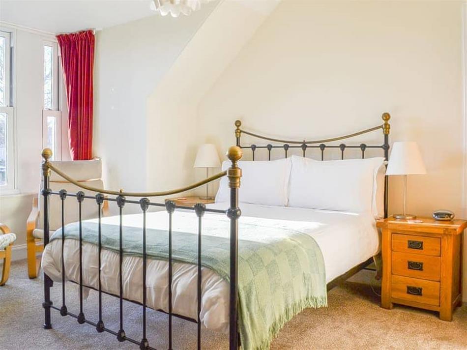 Bedroom in Brighton House, Nairn