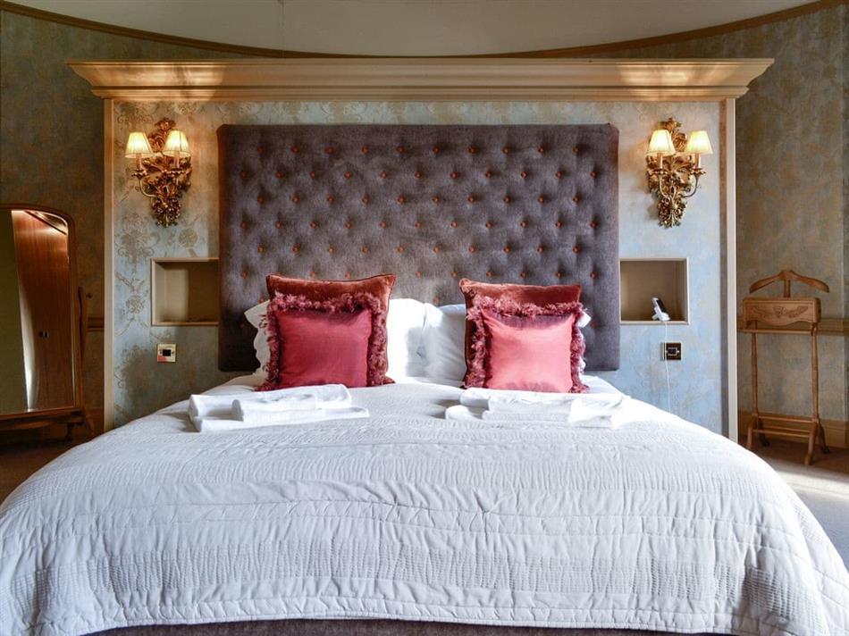 Bedroom in Little Fasque Castle, Fettercairn
