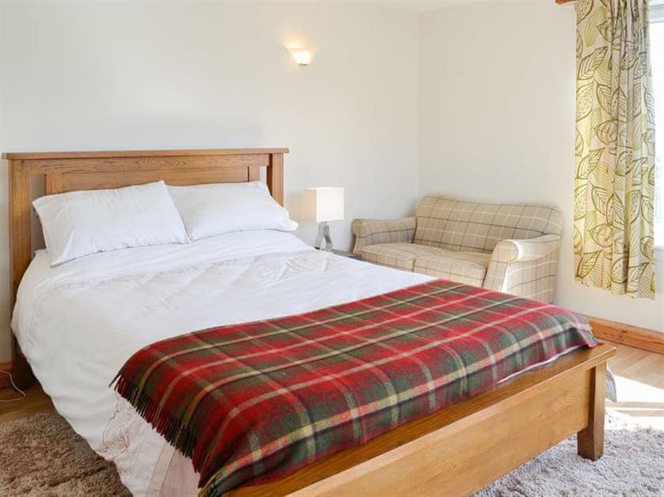Bedroom in Oor Wee Hoose, Whithorn