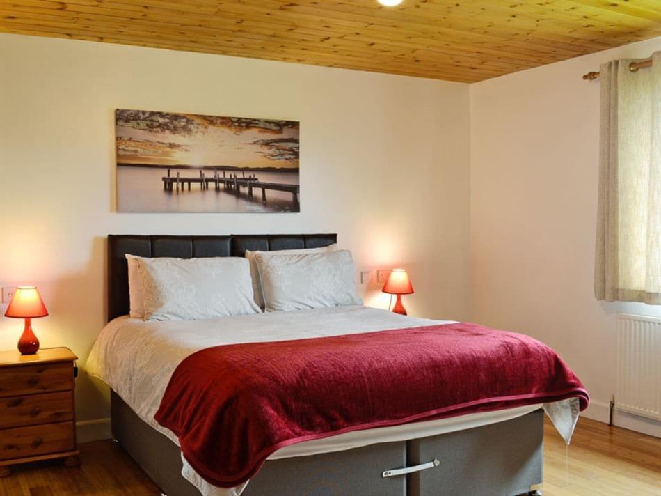 Bedroom in Silver Dee, Crossmichael, near Castle Douglas, Dumfries and Galloway