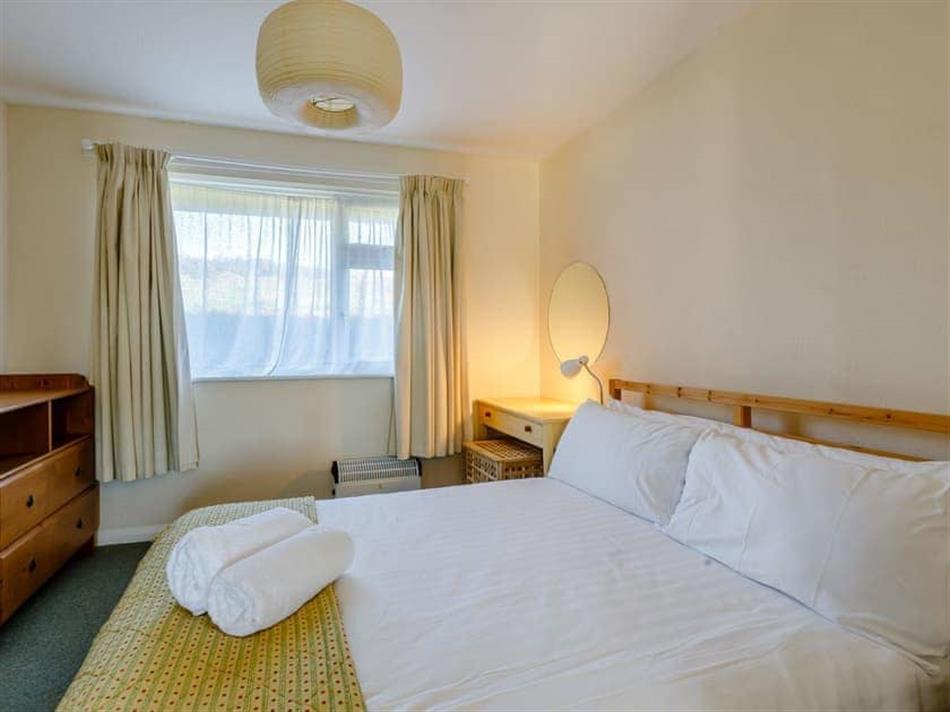 Bedroom in Surfers Hideaway, Woolacombe, near Ilfracombe