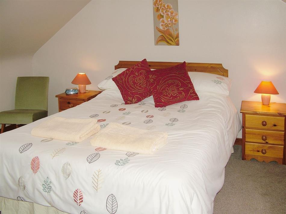 Bedroom in The Stables, Stranraer