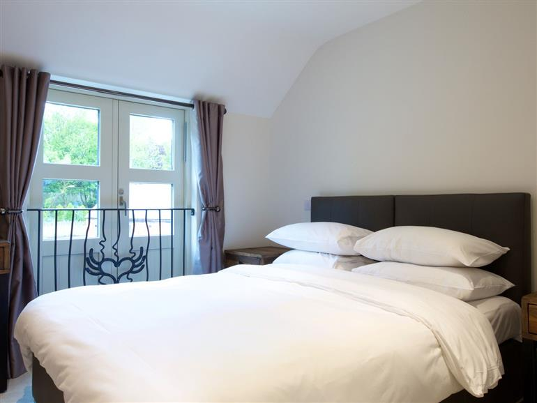 One of the bedrooms at Windon in Nailsworth