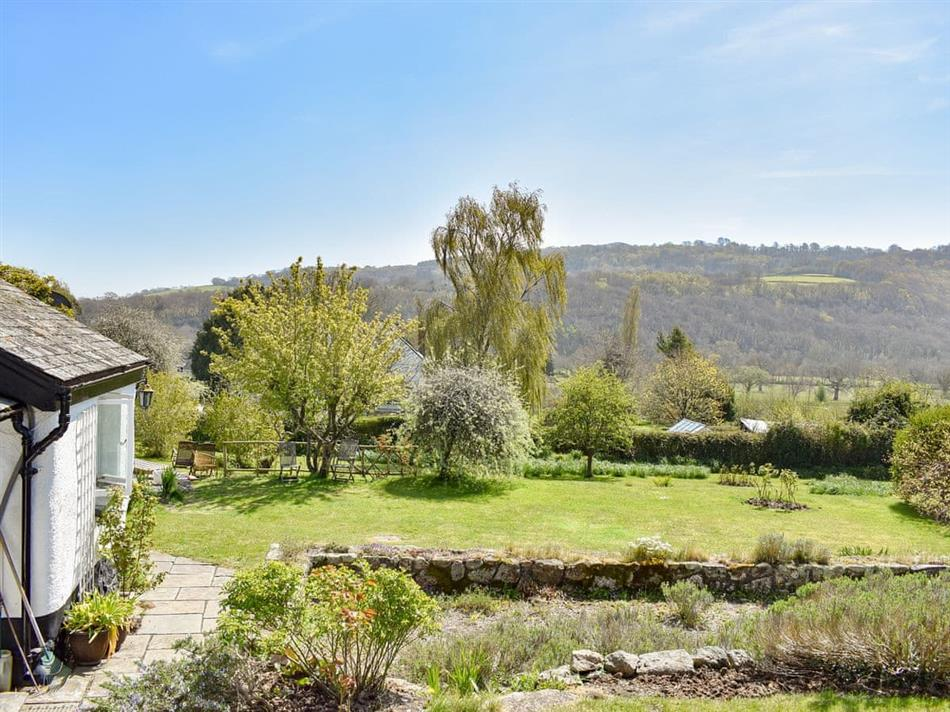 Garden at Brimblecombes, Dunsford, near Bovey Tracey