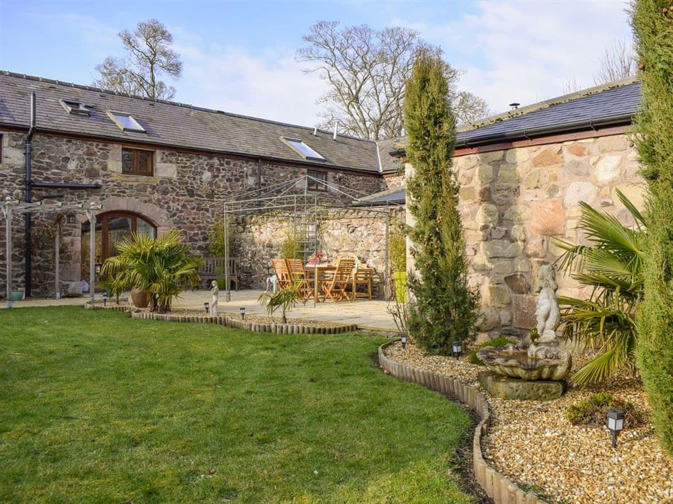 Garden at Mill Barn, Milfield, near Wooler