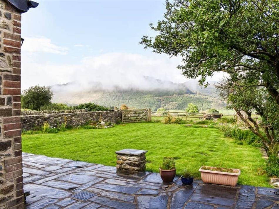 Garden at Nant Y Crogwyn, Penmachno