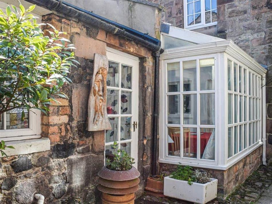 Garden at St Cuthbert's Retreat, Wooler