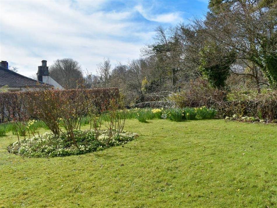 Garden at Tamar Orchard Barn, Gunnislake