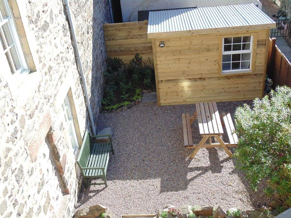 Garden at The Old Townhouse, Newburgh, near Cupar