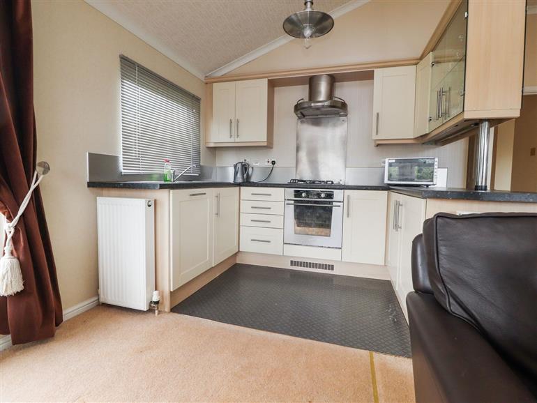 Kitchen at 12 Gressingham near Carnforth