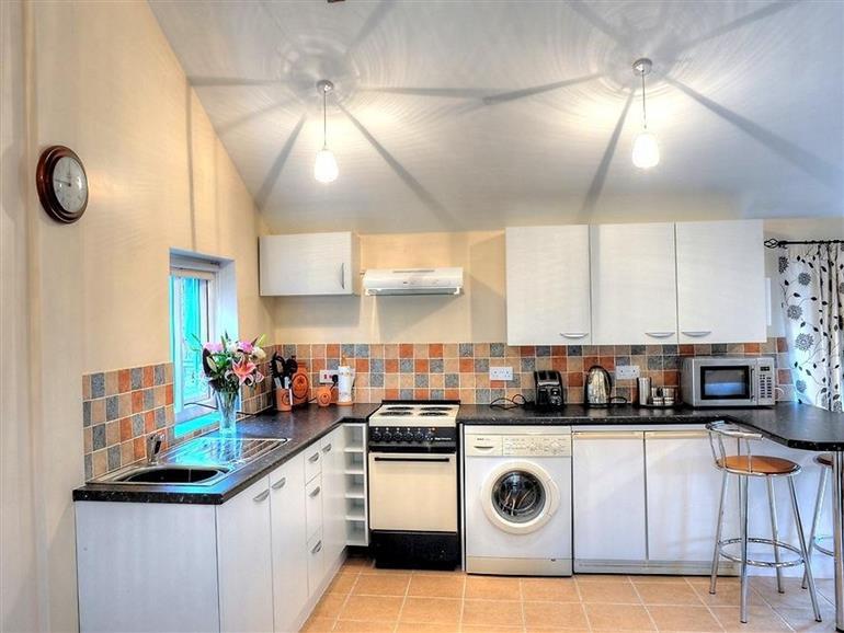 Kitchen at Brook Cottage in Bradworthy