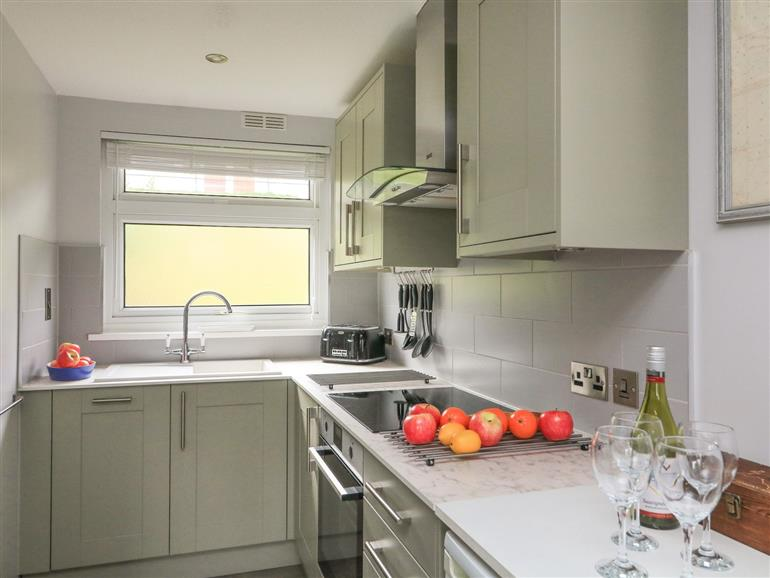 The kitchen at Dartview near Dartmouth