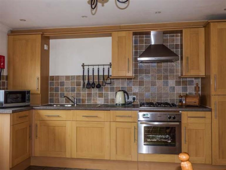 Kitchen at Low Dow Crag in Coniston