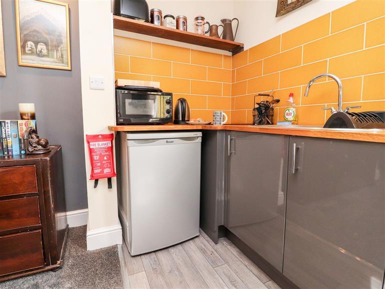 Kitchen at Spice in Preston