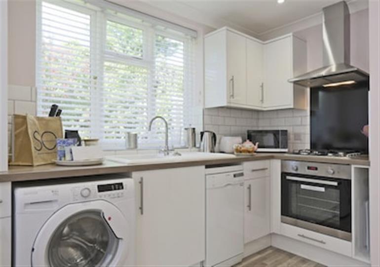 The kitchen at St Edmunds Loft Southwold