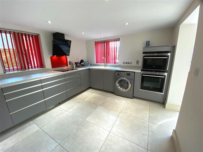 Kitchen at Woollen Cottage in Nailsworth