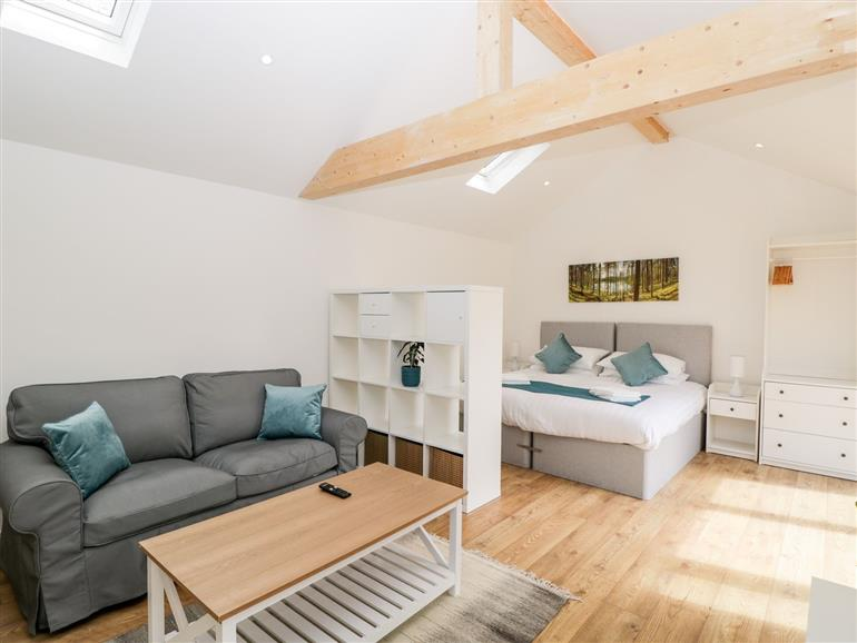 The living room at 1 Welford Barns in Fordingbridge