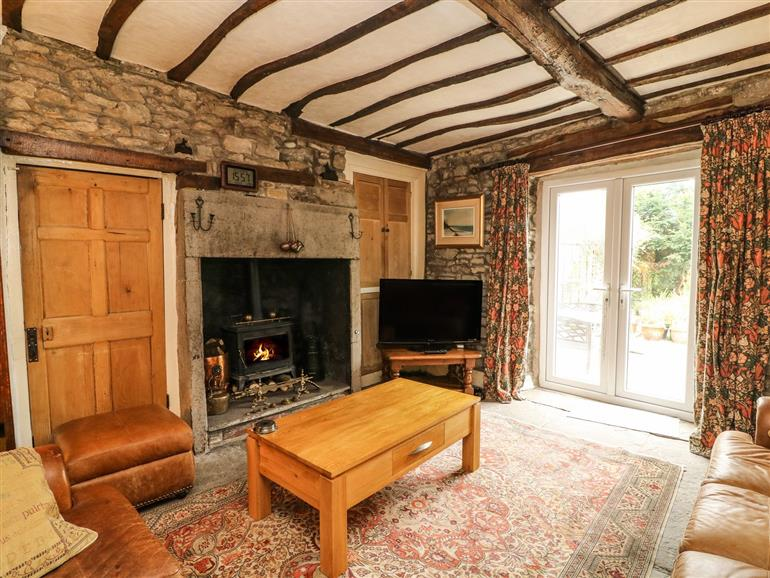This is the living room at 2 Fern Terrace in Burton-In-Kendal