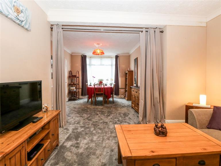 This is the living room at 4 Trafalgar Square in Great Yarmouth