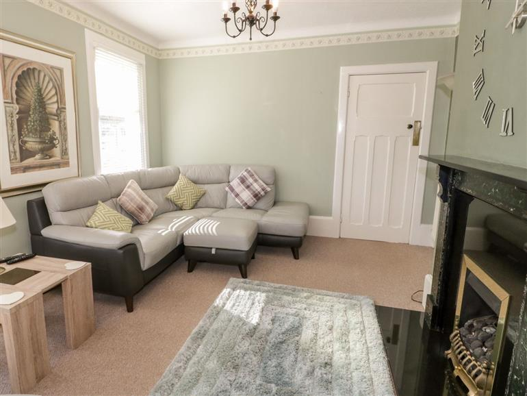This is the living room at 5 Sea Bank Road in Colwyn Bay
