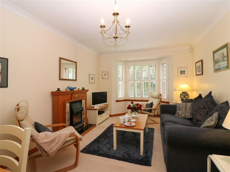 This is the living room at 77 Malcolm's Mount West in Stonehaven