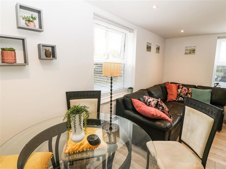 The living room at Arlwyn Bach near Aberdaron
