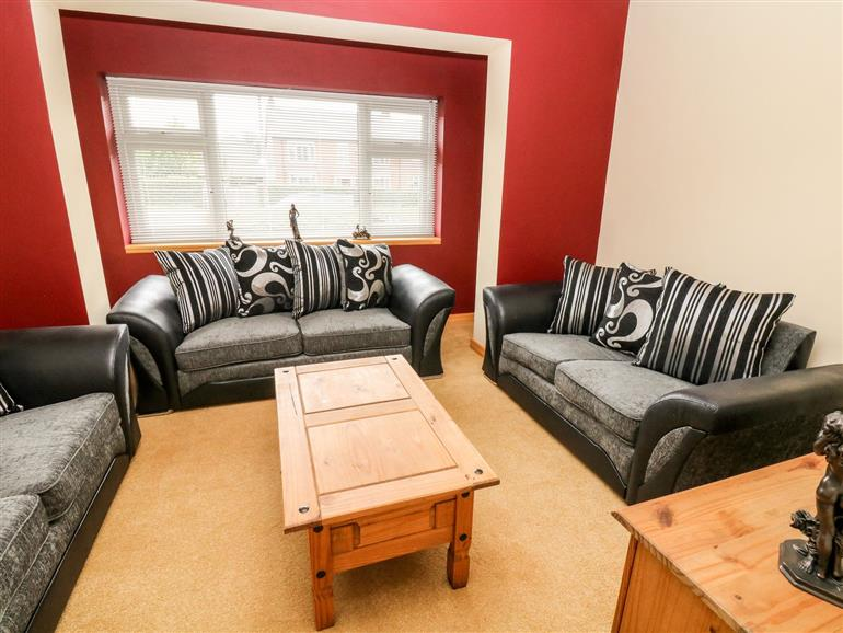 The living room at Bumble Bee in Kiveton Park