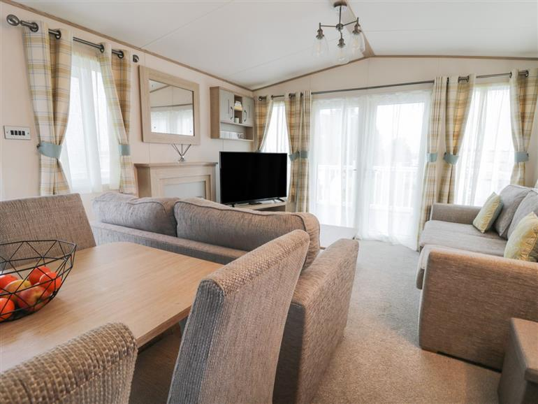 This is the living room at Cedar 1 in Cayton
