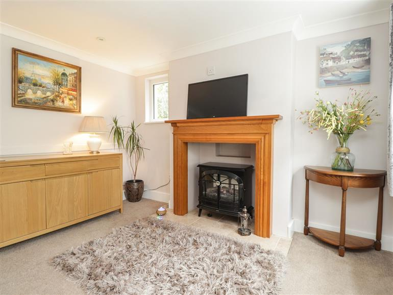 This is the living room at Cosy Cottage in Bexhill-On-Sea