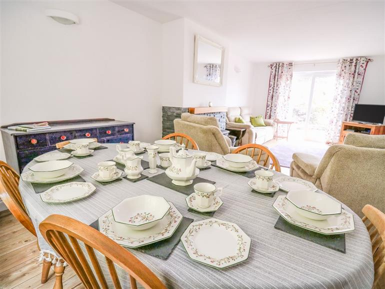 The living room at Cressyn near Kington