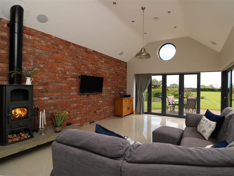 This is the living room at Cul an Ti in Clogherhead