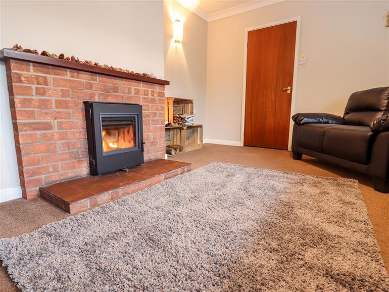 The living room at D Nalyar in Osgodby near Market Rasen