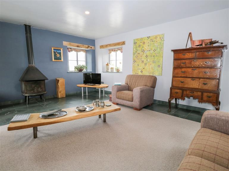 This is the living room at Dorothy Barn near Maulds Meaburn