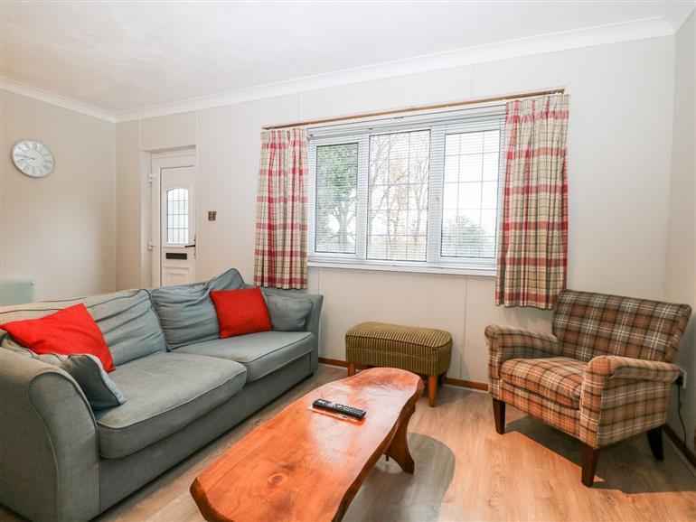 The living room at Elm in Ospringe near Faversham
