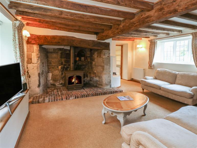 The living room at Goodalls near Niton