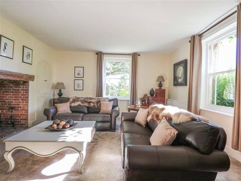 This is the living room at Home Farm in Crowborough