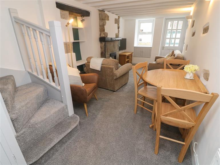 The living room at Honey Pot Cottage in Bentham