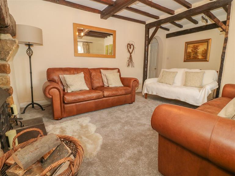 The living room at Hope House near Kirkby Malzeard