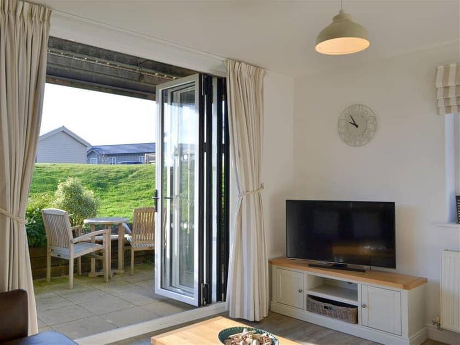 Living room in 22 Sea, Filey
