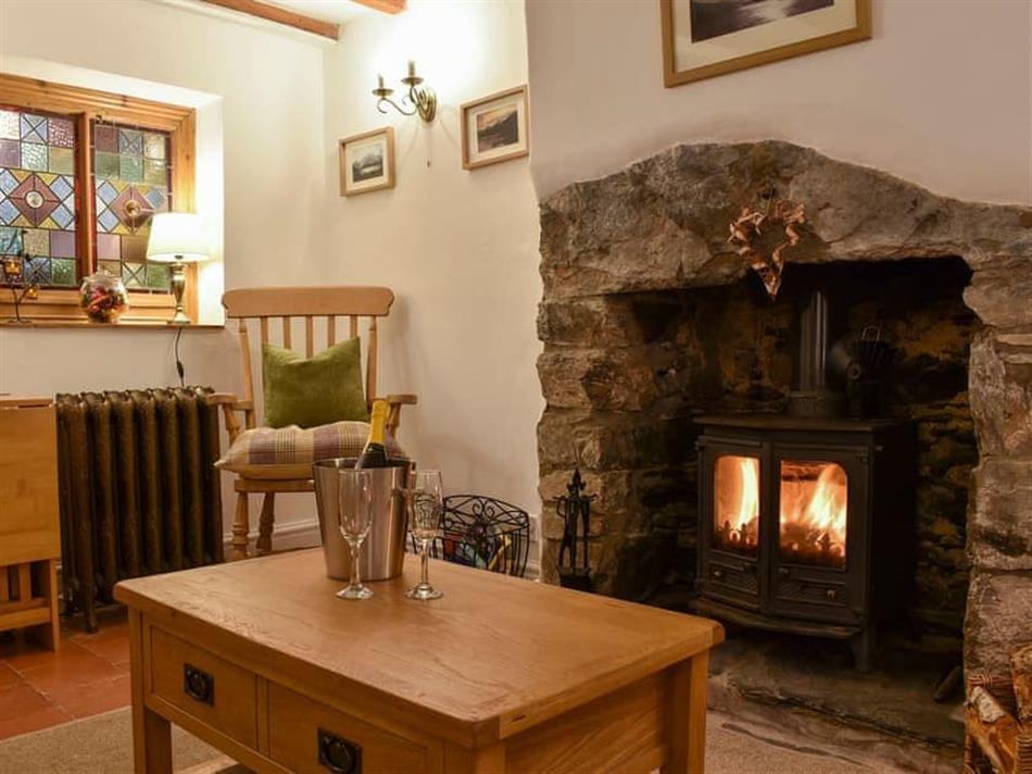 Living room in 4 Banc Llugwy, Betws-y-Coed