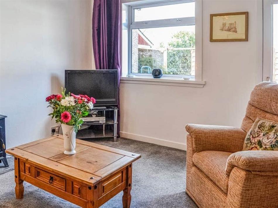 Living room in Ardencaple No 2, Arden Caple, near Castle Douglas