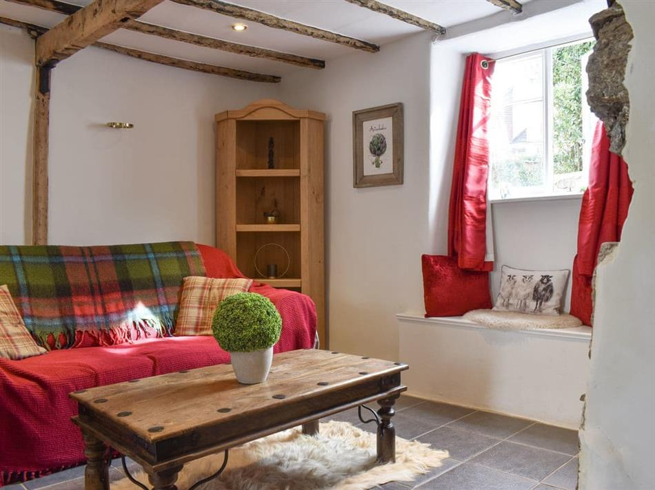 Living room in Artichoke Cottage, Christow, near Exeter