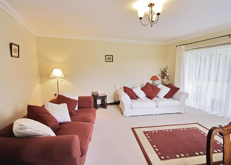 Living room in Arum Cottage, Norfolk