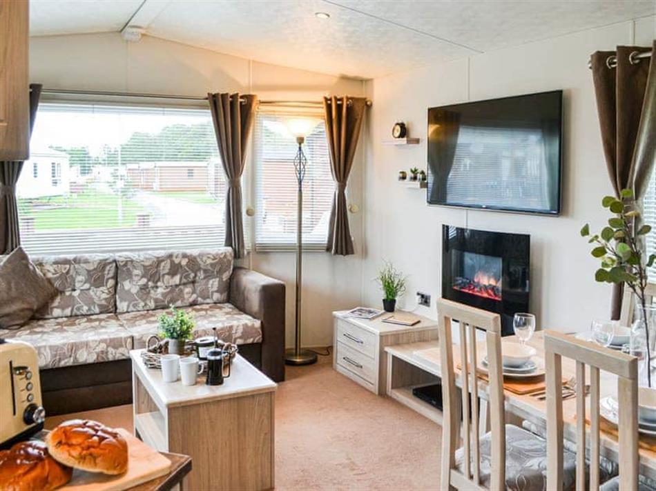 Living room in Ascot Lodge, Felton