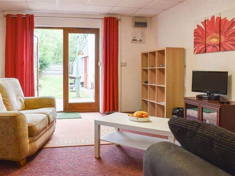 Living room in Braglands, Stogumber