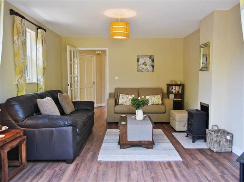 Living room in Bramble Cottage, Wimborne