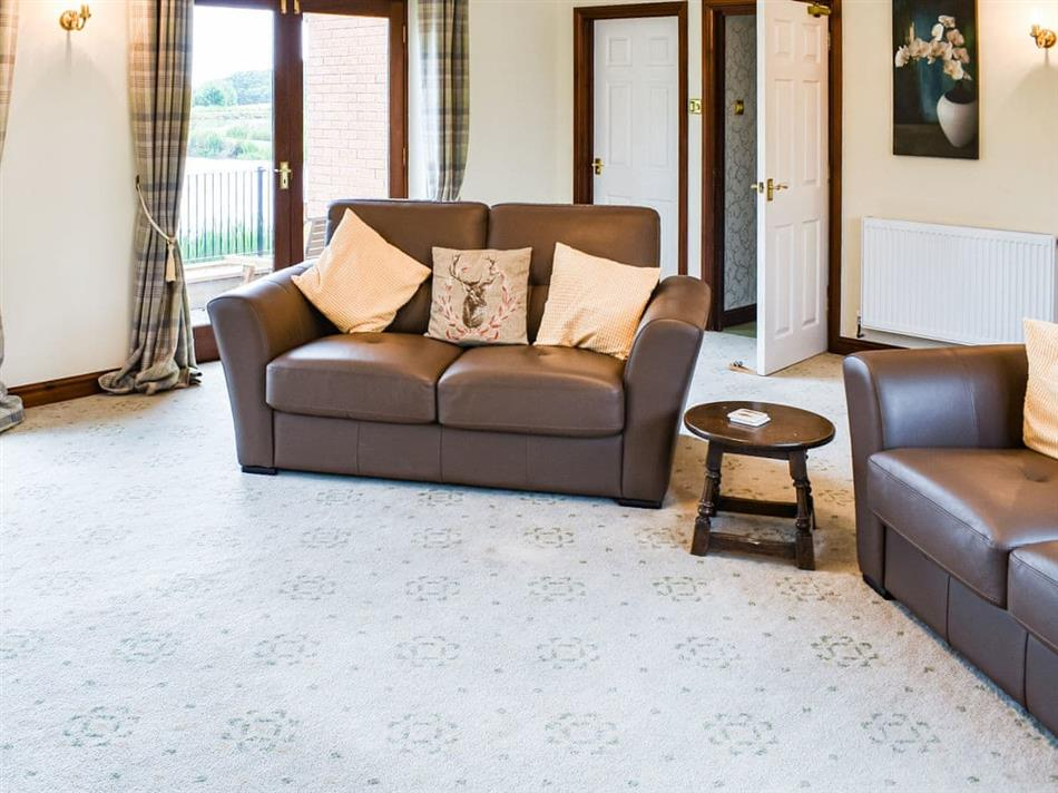 Living room in Bransford Farm, Worcester
